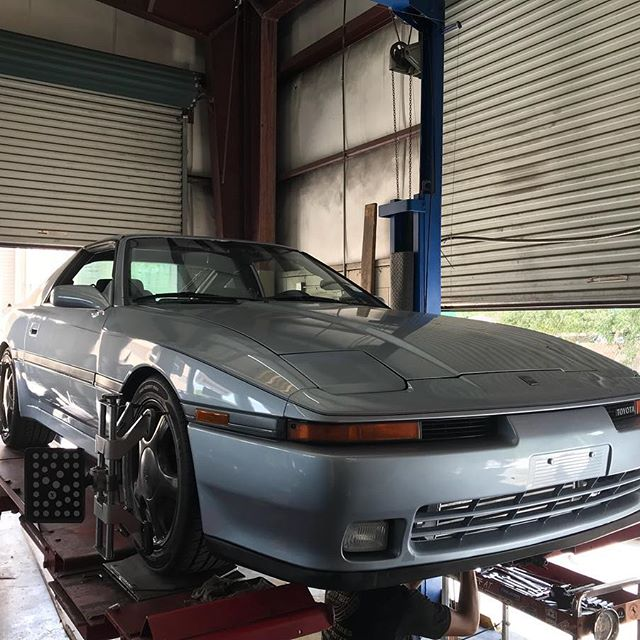 Old School Toyota Supra Alignment